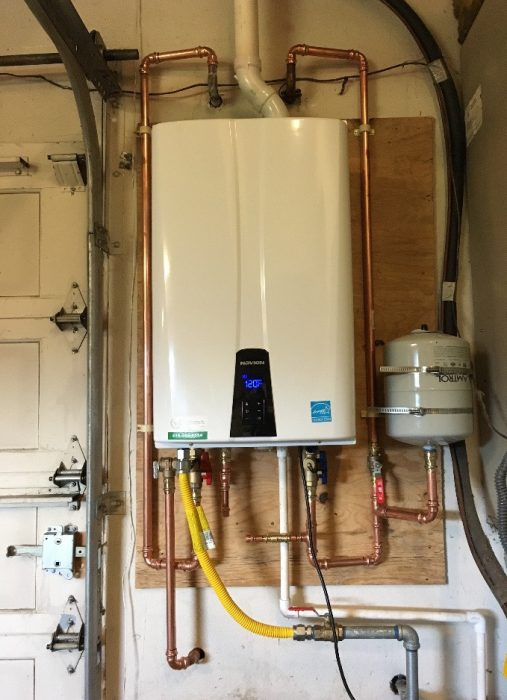 Energy Efficient Tankless Water Heaters