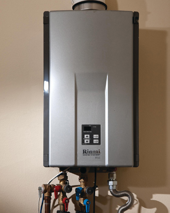Marin County Tankless water heater installation